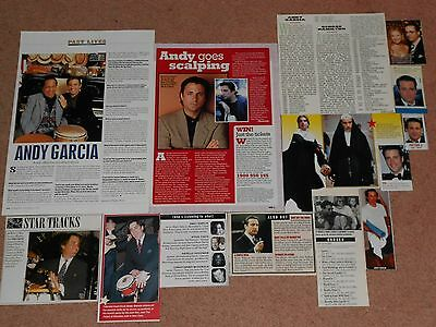 14- ANDY GARCIA Magazine Clippings