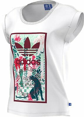 Adidas Originals Rolled Sleeves T-Shirt fitness donna