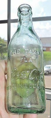 "Rare Original Straight Side Coca Cola  Bottle  ""  Tampa, Florida   ""  Nice  """