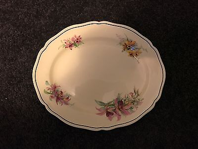 "Royal Doulton ""Orchid"" Oval Serving Platter Small D5215"