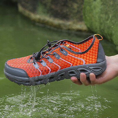 Men Couples Wading Breathable Quick-Drying Mesh Outdoor Beach Sports Water Shoes