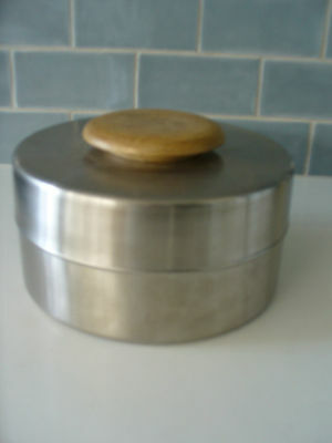 Brand New - Fabulous Country Road Stainless Steel Essie Wide Canister