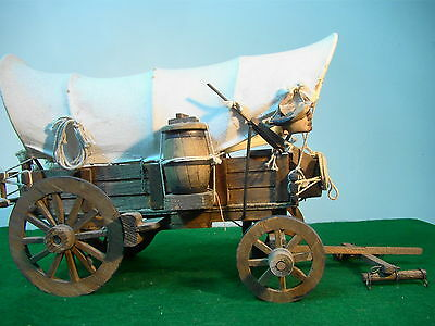 Collectible Old Hand Made Carriage 37 Cm Long & 20 High & 19 Wide