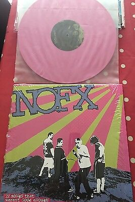 Nofx 22 Songs That Weren't Good Enough Pink Vinyl