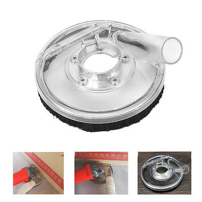 80-125mm Clear Dust Shroud Kit Dry Grinding Cover for Angle Hand Grinder JS