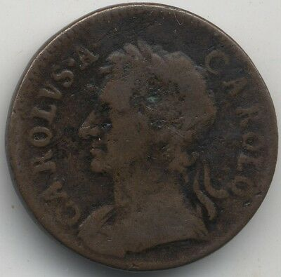 1672 Charles II Farthing***Collectors***