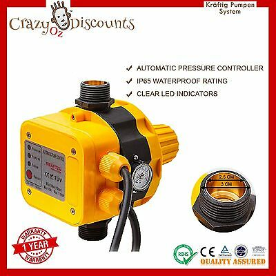 Automatic Pressure Control Switch Electric Electronic Water Pump Controller Led
