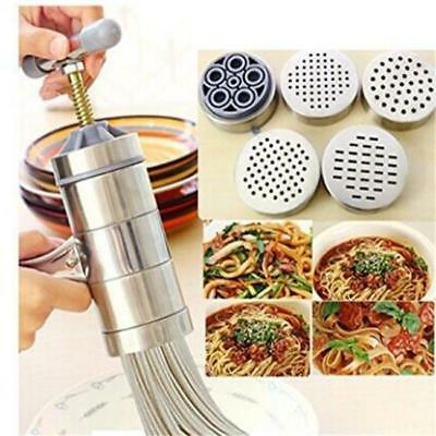 Stainless Steel Kitchen Pasta Noodle Maker Fruit Juicer Press Spaghetti Machine