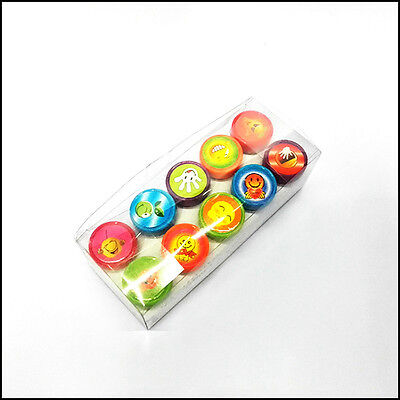 10PCS Self-ink Rubber Stamps Event Supplies Birthday Gift Toys Boy Girl Gift.