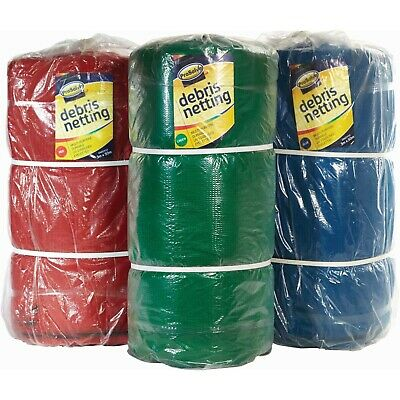 Greenhouse Shade / Scaffold Debris Netting, 1m, 2m, 3m Wide,