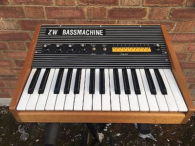 ✯RARE✯ZW BASSMACHINE VINTAGE SYNTH*PRO SERVICED* Moog style Filter Synthesizer