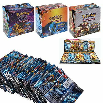 324Pcs/SET Pokemon TCG Card 36 Packs Pokemon GX/EX FULL ART Trainer CARTE