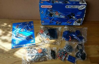 Meccano Multi Models Set 6520 - 261 pieces
