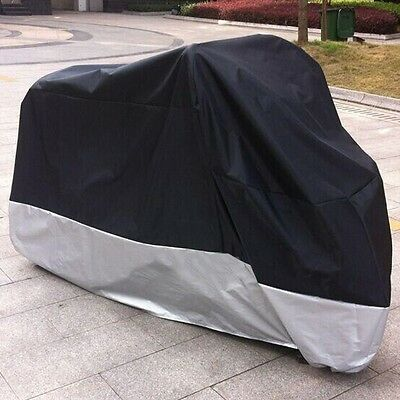 Protector Waterproof Outdoor Motorbike UV Rain Dust Bike Motorcycle Cover L/XL
