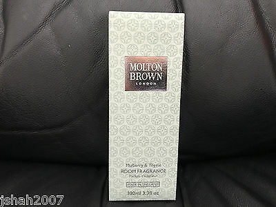 Molton Brown 100ml Mulberry & Thyme Room Fragrance BRAND NEW **LOOK**