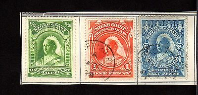 Stamps ~ NIGER COAST ~ Early QUEEN VICTORIA
