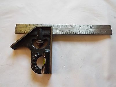 "Vintage J. Rabone NO 1902     9"" Combination Square"
