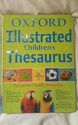 oxford illustrated childrens thesaurus
