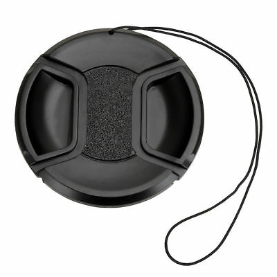 40.5 mm Center Front Snap on Lens cap cover for Canon EOS EF DSLR DC + Leash
