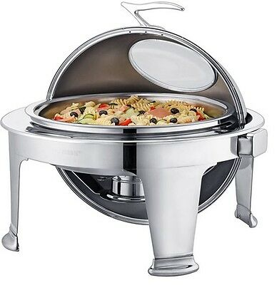 Zodiac Bora Bora Roll Top Chafing Dish Large 36CM / 6.8 LTR Stainless Steel