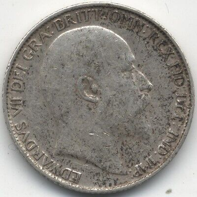 1908 Edward VII Silver Sixpence***Collectors***