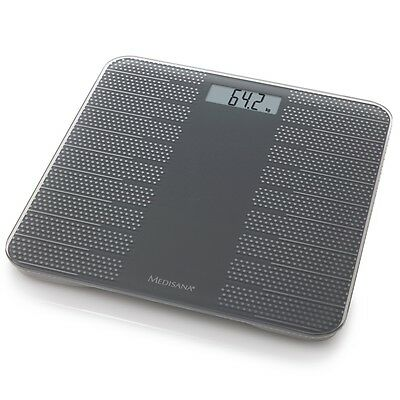 Medisana Body Fat Analysis Bathroom Weight Scales PS 430 180 kg Grey 40458