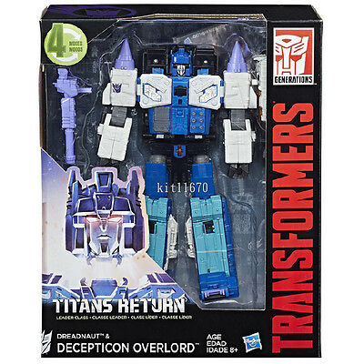 Hasbro Transformers Titans Return W3/17 Leader Overlord Dreadnaught In-Stock AU
