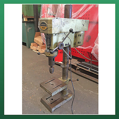"USED - STARTRITE Bench Mount Pillar Drill 6 1/2"" Inch Throat Power Drilling 415v"