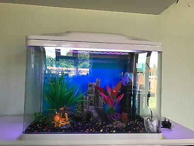 70 L Aquarium Nano Fish Tank Tropical Or Coldwater with LED lights