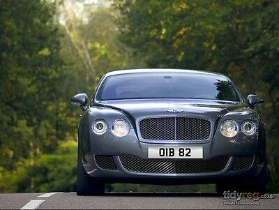 Oib 82 Dateless Private Number Plate Registration