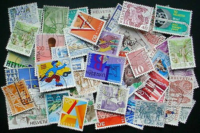 Switzerland: Collection Of 50 Used Stamps