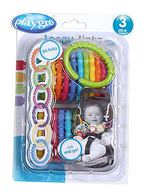 Playgro Loopy Links - 24 Pack