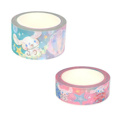 2017 Sanrio Cinnamoroll Dog Masking Tape Set (Set of 2 Rolls) ~ NEW