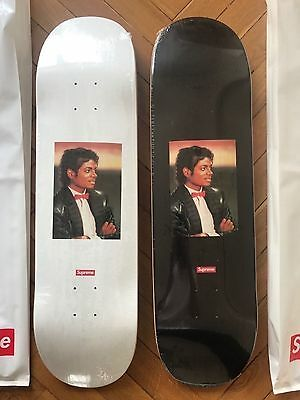 Supreme Michael Jackson Deck Skateboard Set Black and White NEW