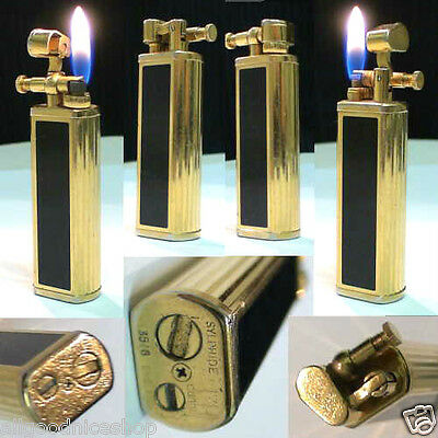 BRIQUET * DUNHILL Sylphide Laque * British Gas LIGHTER * FEUERZEUG * ACCENDINO *