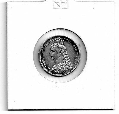 victoria,silver jubilee head sixpence