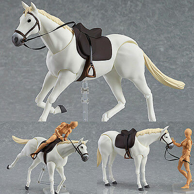 Figma 246b Horse White Version Action Figure Max Factory Japan