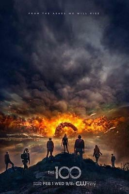 THE 100 SEASON 4 COMPLETE Series FOUR FOURTH DVD Brand New Sealed