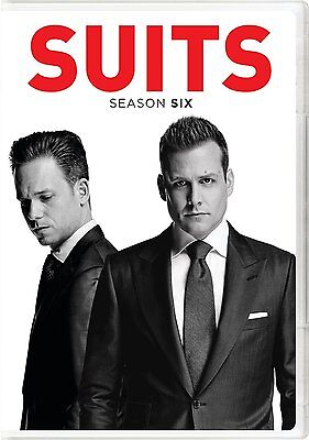 SUITS COMPLETE SEASON 6 Series SIX SIXTH DVD Brand New Sealed