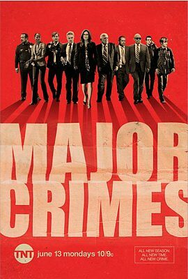 MAJOR CRIMES SEASON 5 COMPLETE Series FIVE FIFTH DVD Brand New Sealed