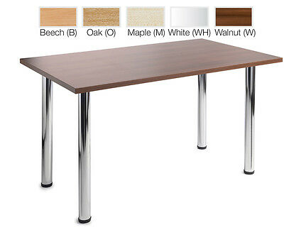 Meeting Tables Rectangular Trapezoidal Semi Circular Available in 5 Colours!