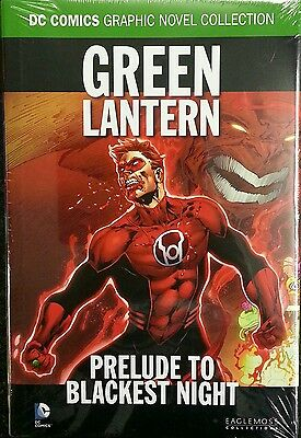 Eaglemoss DC Graphic Novel Collection Green Lantern Prelude to Blackest Night.