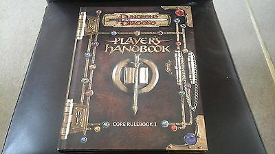 Dungeons and Dragons Players Handbook Core Rulebook I Hardback - Never Filled In