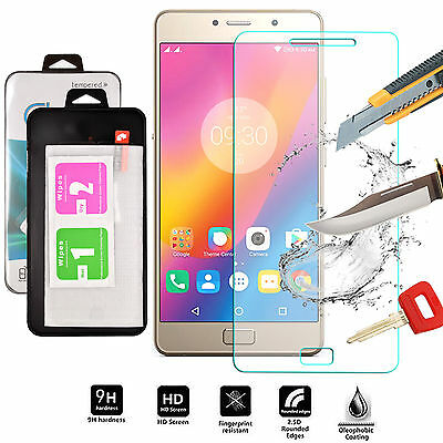 Genuine Shockproof Tempered Glass Screen Protector Front Cover For Lenovo P2