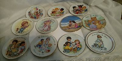 "a lot of avon 5"" collectors mothers day plates"