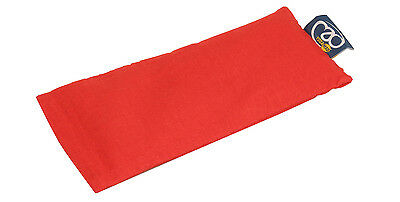 Yoga Mad Organic Eye Pillow - Burgundy