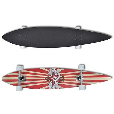 Professional Complete Longboard Skateboard Pintail Skating Outdoor Sports