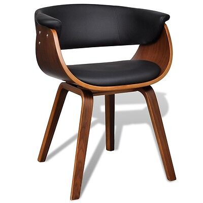 Artificial Leather Dining Chair with Backrest