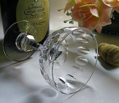 Exquisite VINTAGE ANTIQUE CRYSTAL Baluster CHAMPAGNE GLASS ~ MAGICAL Chime!