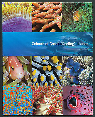 2011 Colours Cocos (Keeling) Islands Post Office Pack (POP) with all mint stamps